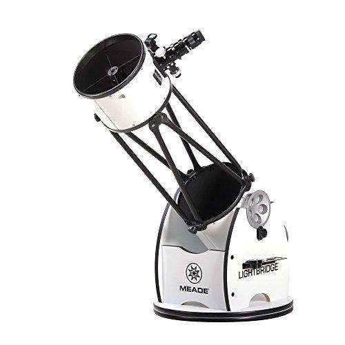 MEADE 天体望遠鏡 ライトブリッジ10 反射式 口径254mm ドブソニアン式経緯台 【2梱包】 600887