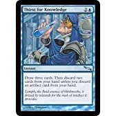 Thirst for Knowledge (Magic the Gathering : Mirrodin #53 Uncommon)