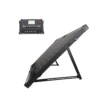 100W  HQST 充電コントローラ付 ソーラーパネル
