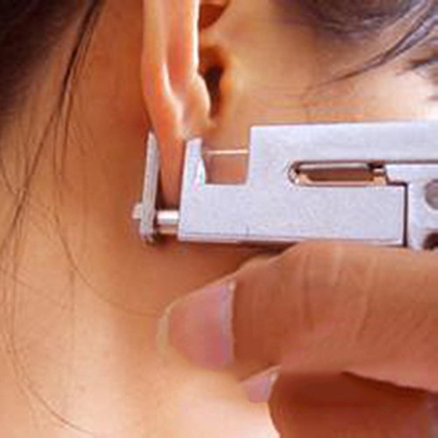 ちょうつがい猫背知るプロの耳ボディ鼻ピアスガン 工作機械キットセット+ 98個スチールスタッド 使いやすい