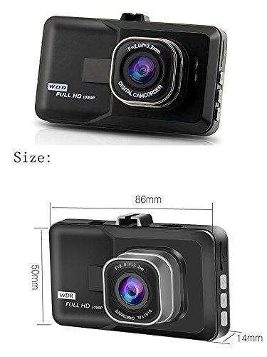 TK-SERVICE ドライブレコーダー Wカメラ搭載 IPS液晶 フルHD  1080P B078J16FNC 1枚目