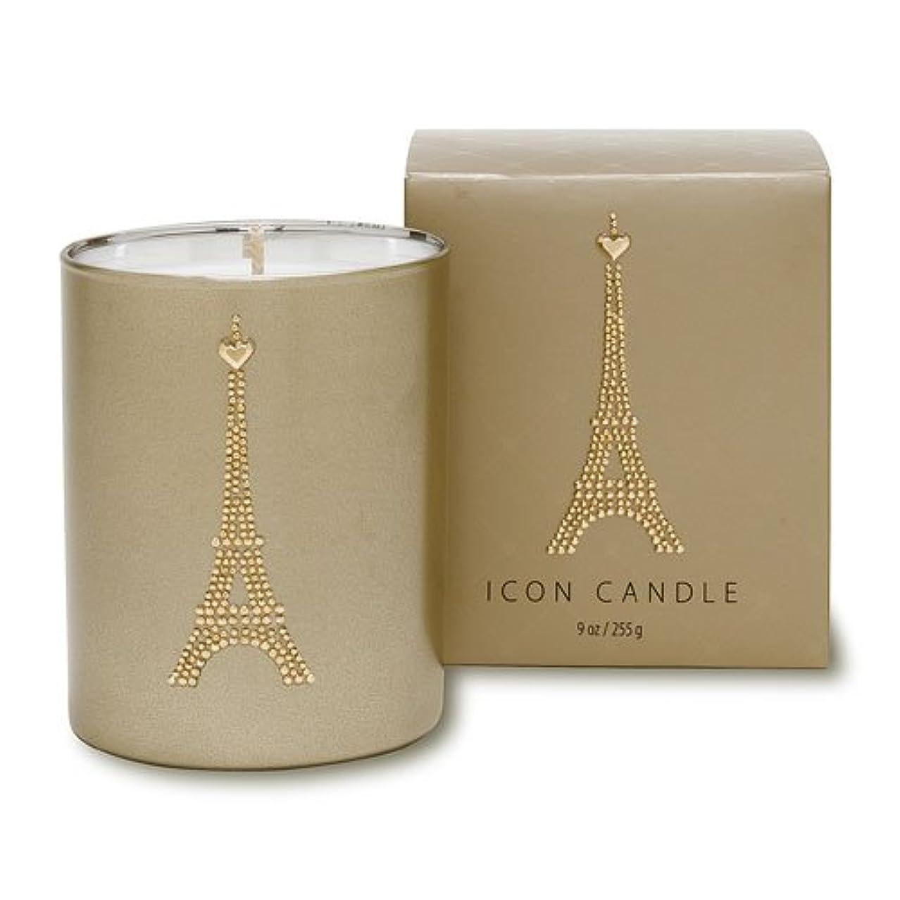 居間申請者手段ヴィンテージ アイコン キャンドル/パリ 洋蘭とスミレ、ブラックベリームスクの香り キャンドル