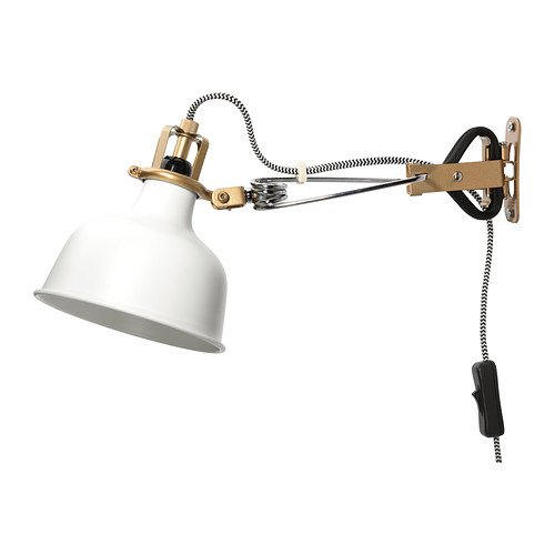 IKEA(イケア) RANARP クランプスポットライト オフホワイト