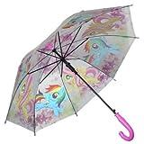 マイリトルポニー 子供用 傘 自動傘 ジャンプ傘 直径77cm My Little Pony umbrella 3182 [並行輸入品]