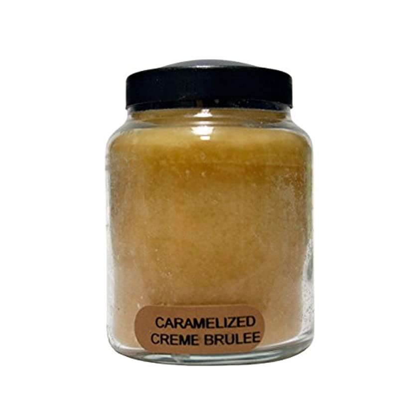 表向きにぎやかつづりA Cheerful Giver Caramelized Creme Brulee Baby Jar Candle, 6-Ounce [並行輸入品]