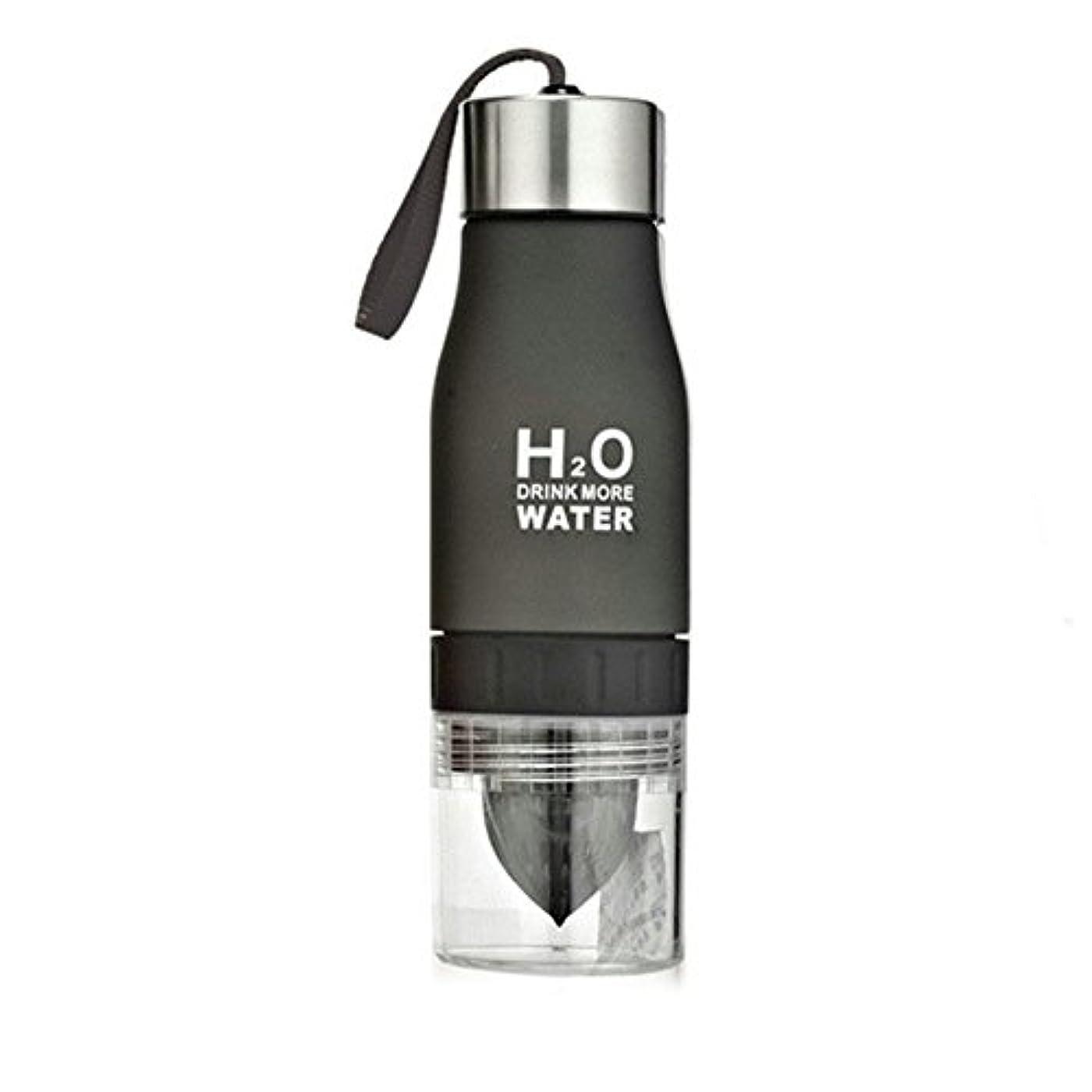 終わらせる著作権埋め込むDutch Brook 650 ml H2O 水ボトル 屋外 ポータブル ジュース レモンフルーツ用かごカップ