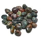 1/2lb Blood Stone Tumble Polished Gemstone