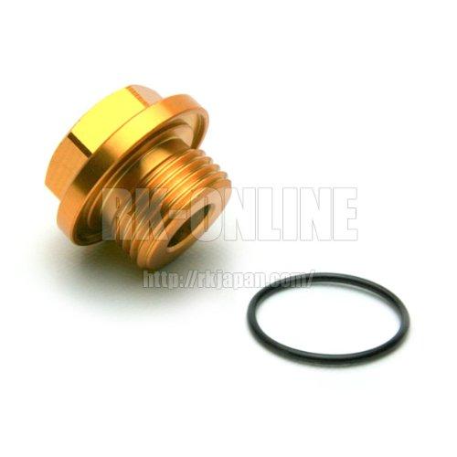 トラスト GReddy オイルクーラー用リペアパーツ センサーアダプター 1/8PT/M18 CODE:16400720