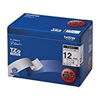 brother/ブラザー工業/文字テープ/ラベルプリンター用テープ / - 幅:12mm - / 10個入り / TZe-231V / 10 / 白に黒文字
