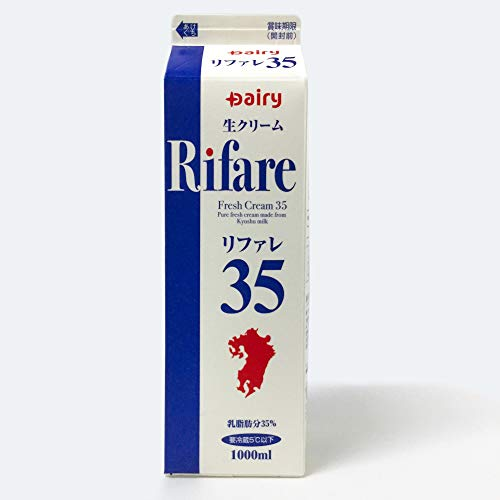 業務用 リファレ35 生クリーム 1,000ml 南日本酪農