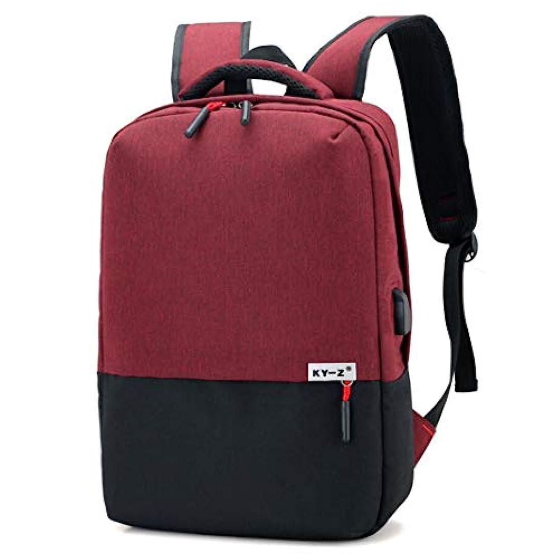 作成する短くする慣習LCPTJ バックパックメンズトラベルバッグバックパックカレッジ高校学生バッグ女性のビジネスコンピュータバッグ複数の色があります
