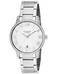 [ティファニー]Tiffany&Co. 腕時計 Atlas Dome シルバー文字盤 ダイヤモンドケース自動巻 Z1801.68.10B21A00A メンズ 【並行輸入品】