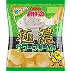 カルビー ポテトチップス 極濃サワークリーム味 1箱(12袋)