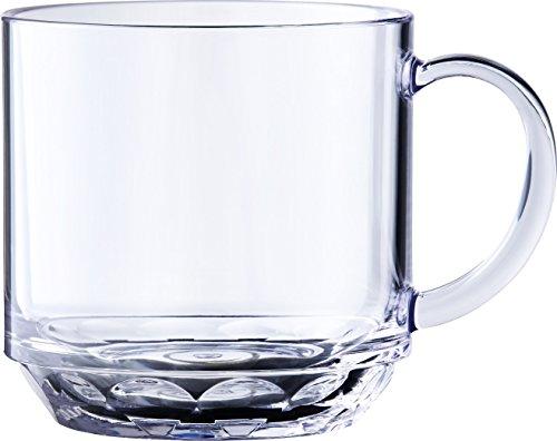 プラキラプロ (Plakira pro) マグカップ Short Mug 340cc トライタン クリア PM101_340CL