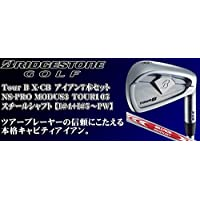 BRIDGESTONE(ブリヂストン) 2018 TOUR B X-CB アイアン 7本セット (番手:I#4~I#9+PW) N.S.PRO MODUS3 TOUR 105 スチールシャフト 2018年モデル メンズゴルフクラブ 右利き用