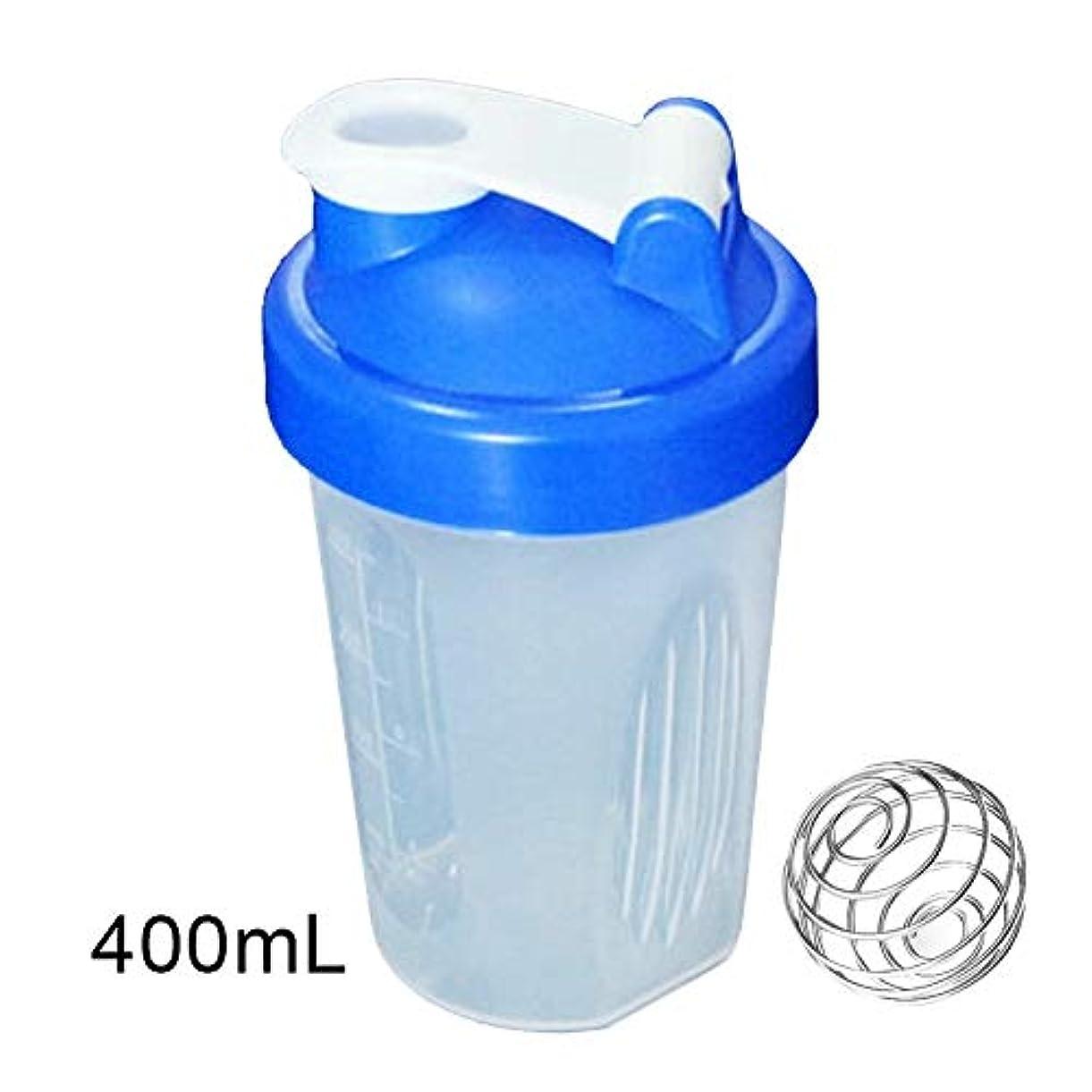本物の無心器具Tuonar 400 / 600ml蛋白質の粉の混合のコップは感動的な球が付いている漏出防止の振動ボトルを密封しました