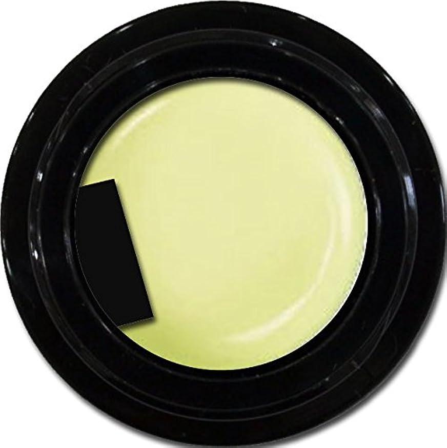 結紮繊細驚いたカラージェル enchant color gel P601 powderYellow 3g/ パールカラージェル P601パウダーイエロー 3グラム