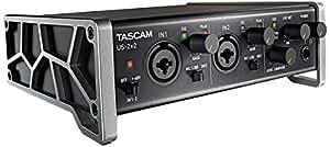 TASCAM オーディオMIDIインターフェース USB2.0/iPad接続対応/2入力2出力 ハイレゾ音源対応 US-2x2
