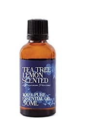 Mystic Moments | Tea Tree Lemon Scented Essential Oil - 50ml - 100% Pure