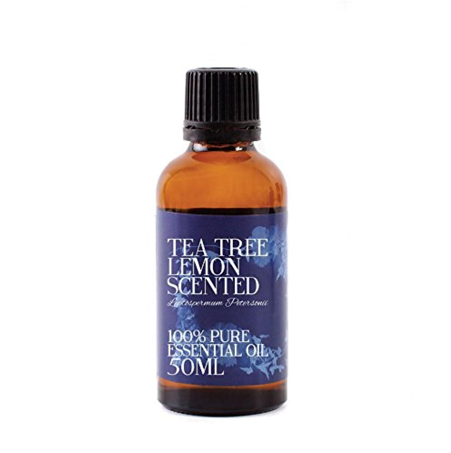 偽装する信頼性ふけるMystic Moments | Tea Tree Lemon Scented Essential Oil - 50ml - 100% Pure