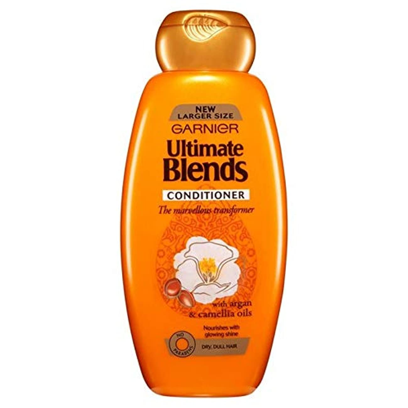 名義で法廷ロードハウス[Garnier ] ガルニエ究極は、アルガンオイル光沢のあるヘアコンディショナー600ミリリットルをブレンド - Garnier Ultimate Blends Argan Oil Shiny Hair Conditioner...