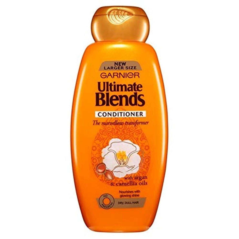 取り壊すまさに九時四十五分[Garnier ] ガルニエ究極は、アルガンオイル光沢のあるヘアコンディショナー600ミリリットルをブレンド - Garnier Ultimate Blends Argan Oil Shiny Hair Conditioner...