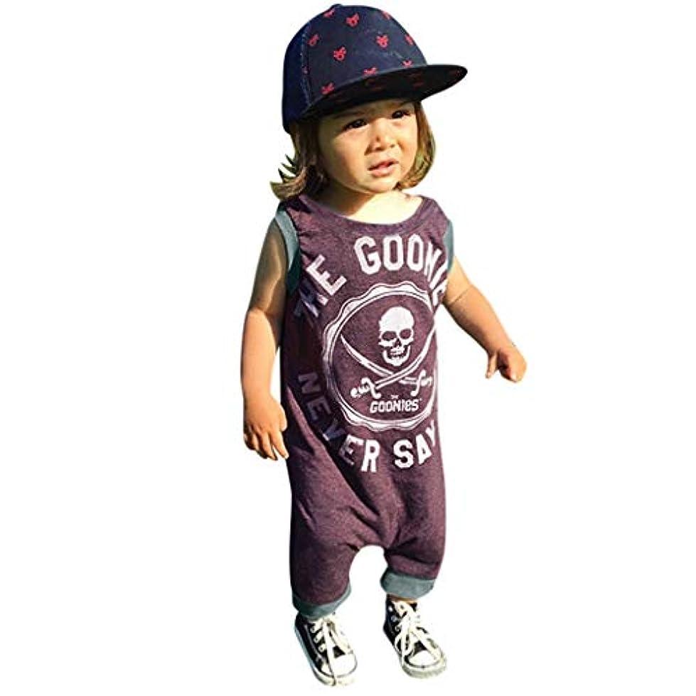 概してだらしないローズ洋子ちゃん 新生児 ベビー服 女の子 ロンパース かわいい 赤ちゃん 半袖 ハロウィン骷髅プリント 前開き カバーオール 70CM-80CM-90CM-100CM(0ヶ月-24ヶ月)
