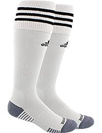 アディダス アンダーウェア 靴下 adidas Copa Zone Cushion III Soccer Sock WhiteBlack [並行輸入品]