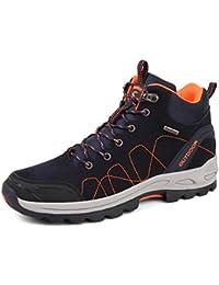トレッキングシューズ ハイキングシューズ ハイカット アウトドア メンズ レディース ウォーキング ハイカー 登山靴 快適 防水 防滑 通気性 耐磨耗 大きいサイズ