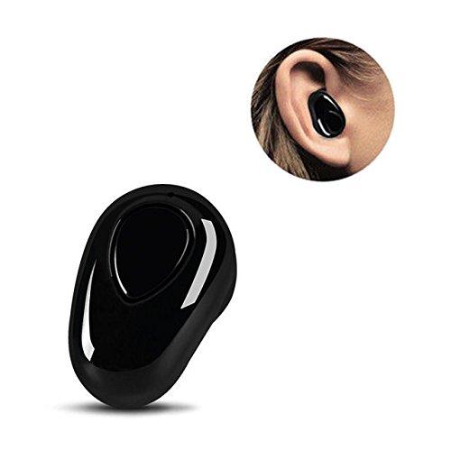 ミニワイヤレス イヤホン Bluetooth 4.1片耳インナーイヤー型 スポーツイヤフォン 防汗軽量小型 モノラル マイク内蔵 高音質 内蔵 ハンズ