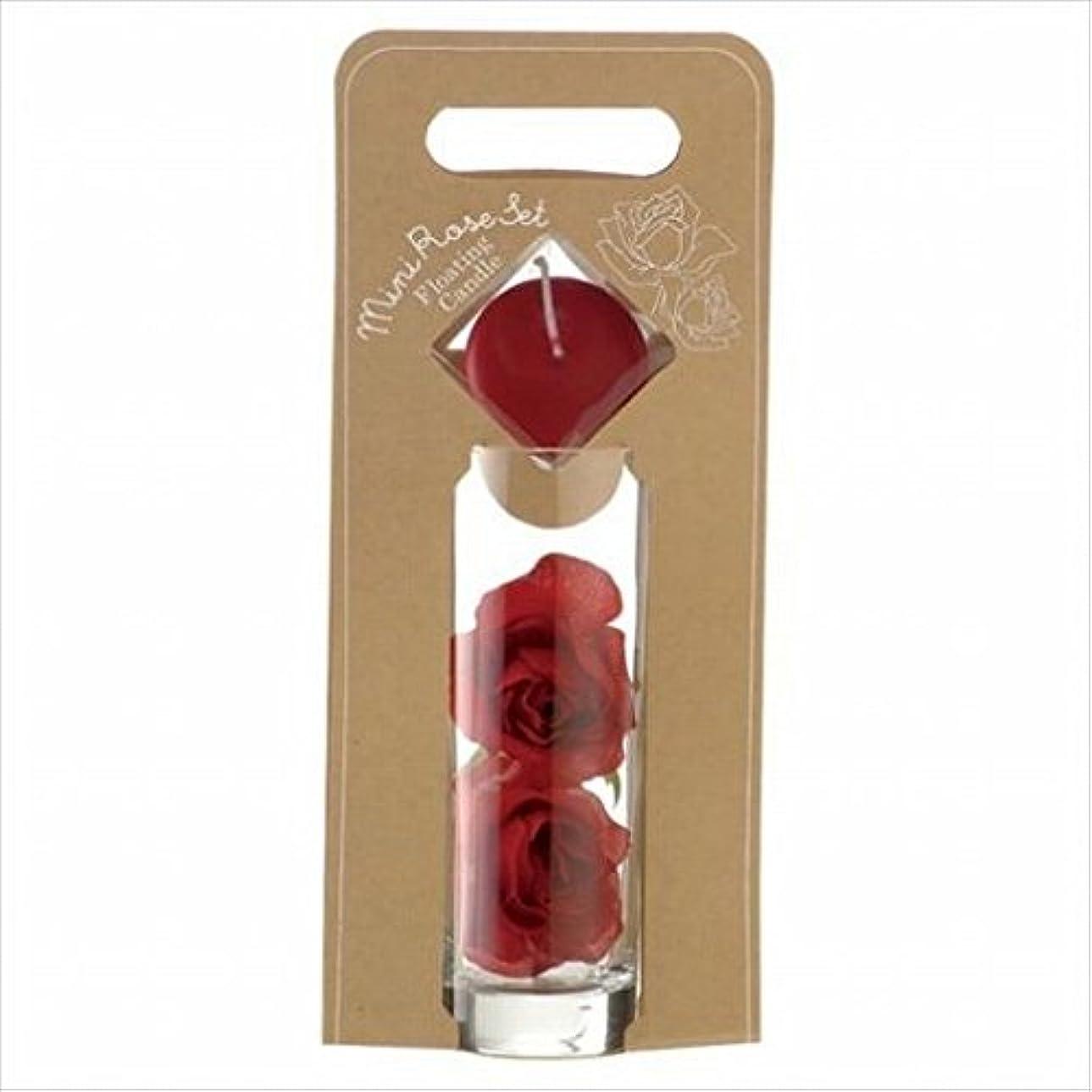 タオルビート個人的なkameyama candle(カメヤマキャンドル) ミニローズセット 「 ワインレッド 」(A7620005WR)