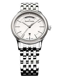 [モーリス・ラクロア] Maurice Lacroix 腕時計 Les Classiques Quartz スイス製クォーツ LC1007-SS002-130 メンズ [バンド調節工具&高級セーム革セット]【並行輸入品】