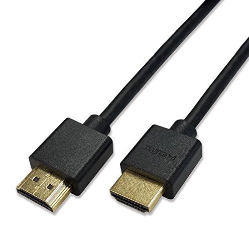Hanwha スーパースリム ハイスピード HDMIケーブル 2m 細線 Ver2.0b 8K 4K 2K対応 UMA-HDMI20T