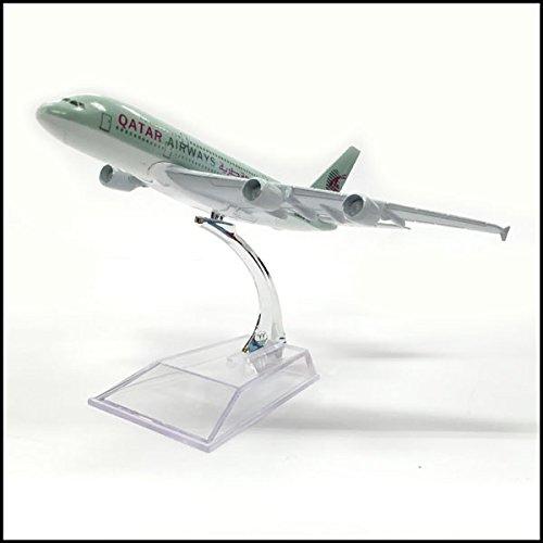 カタール航空 飛行機模型 A380-800 QATAR AIRWAYS 中東...
