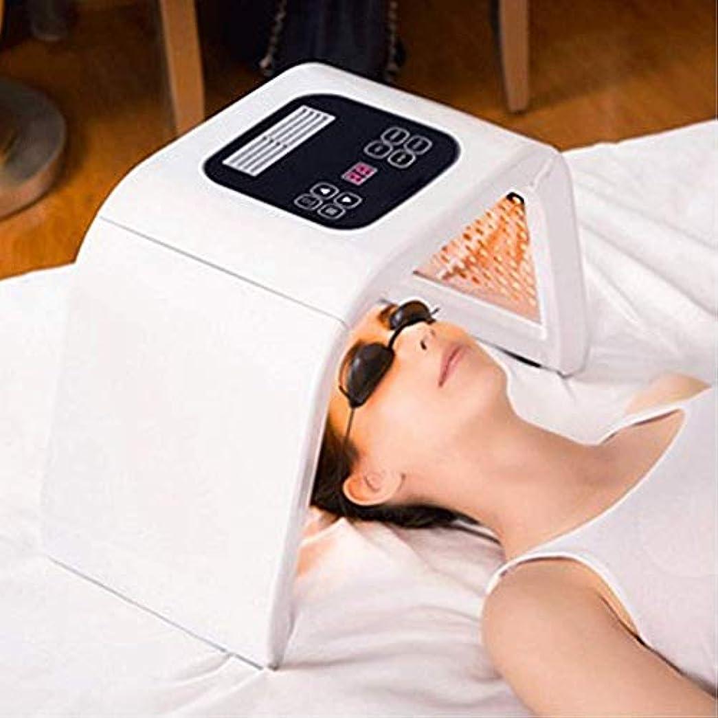 信条分析するレタッチ若返りLED機器、7色の光美容機を皮膚、PDTマスクセラピーしわ除去アンチエイジングホームサロン使用スキンケアツールの肌の若返りフェイシャルケア美容機を、