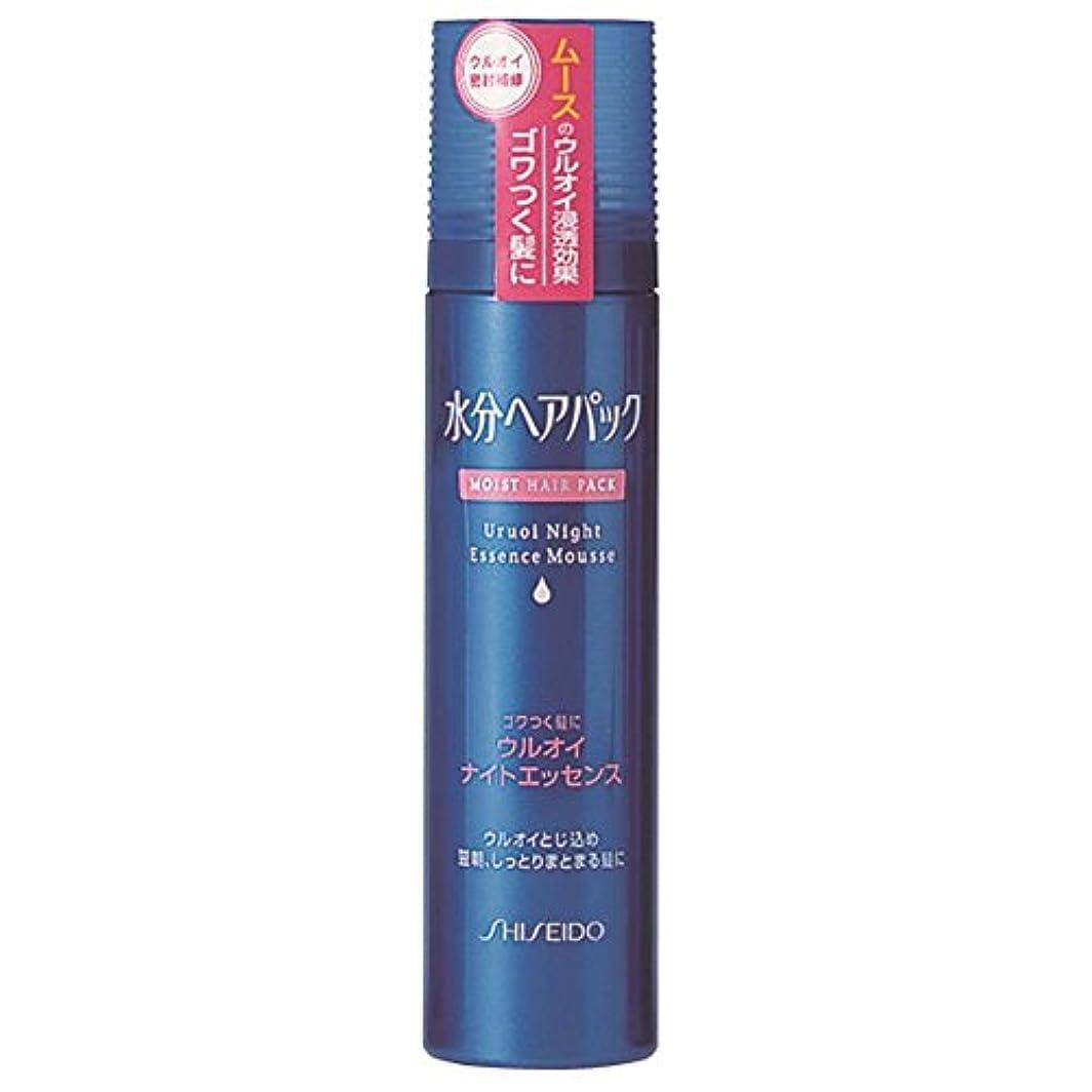 物質驚いた月曜日水分ヘアパック ウルオイナイトエッセンス ごわつく髪用 140g