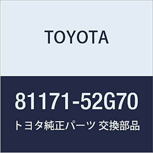 TOYOTA (トヨタ) 純正部品 ヘッドランプ レンズ LH アクア 品番81171-52G70