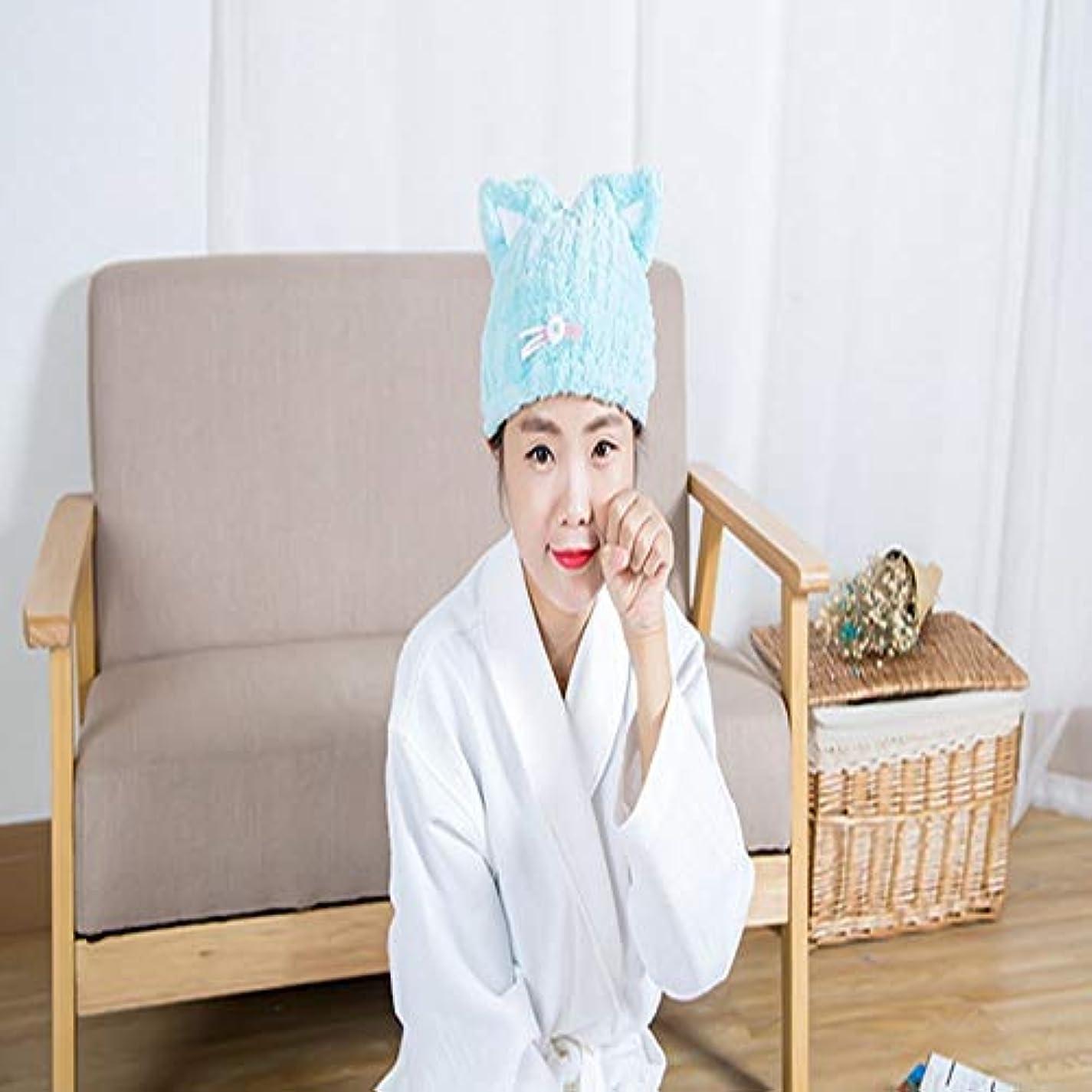 行政ジョブソーダ水LBLMS シャワーキャップ、かわいい漫画ドライシャワーキャップすべての髪の長さと豪華なシャワーキャップの厚さ、再利用可能なシャワー。 (Color : 6)