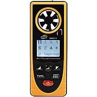 BENETECH 風速計 デジタル 小型 風速計測 温度計 ポケットアネモメーター 多機能 風 テスター 小型風速計 デジタル風量テスター ミニ風速計 GM816