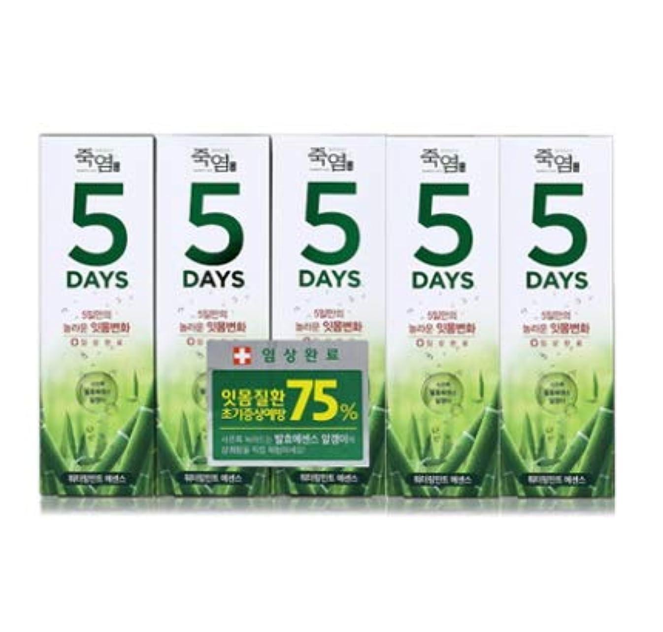 敬意偽善者連想[LG Care/LG生活健康]竹塩歯磨き粉5daysウォーターリングミント100g x5ea/歯磨きセットスペシャル?リミテッドToothpaste Set Special Limited Korea(海外直送品)