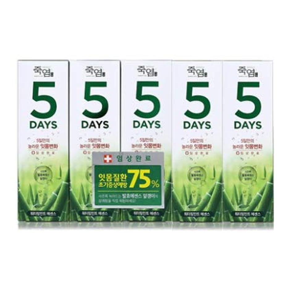 債権者性能暗殺者[LG Care/LG生活健康]竹塩歯磨き粉5daysウォーターリングミント100g x5ea/歯磨きセットスペシャル?リミテッドToothpaste Set Special Limited Korea(海外直送品)