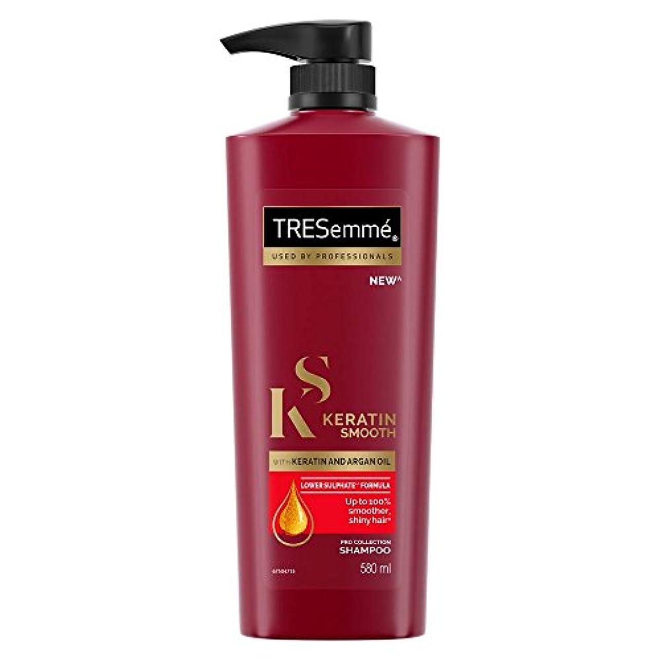 インストール歯科の楽なTRESemme Keratin Smooth Shampoo, 580ml (TRESemmeケラチンスムースシャンプー、580ml)