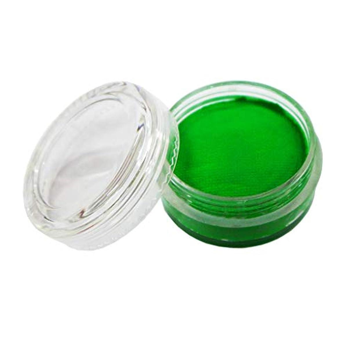 経歴おびえた魔法パーティー 塗料 顔料 蛍光 水ベース ボディペイント ステージメイクアップ コスチューム 緑, 35mm