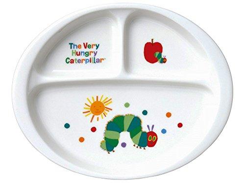 「 はらぺこあおむし 」 こども用 ランチプレート 皿 23cm 子供用 食器 白 807117