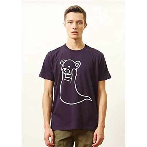 (グラニフ)graniph ベーシック Tシャツ / コントロールゴースト ( マットパープル ) SS