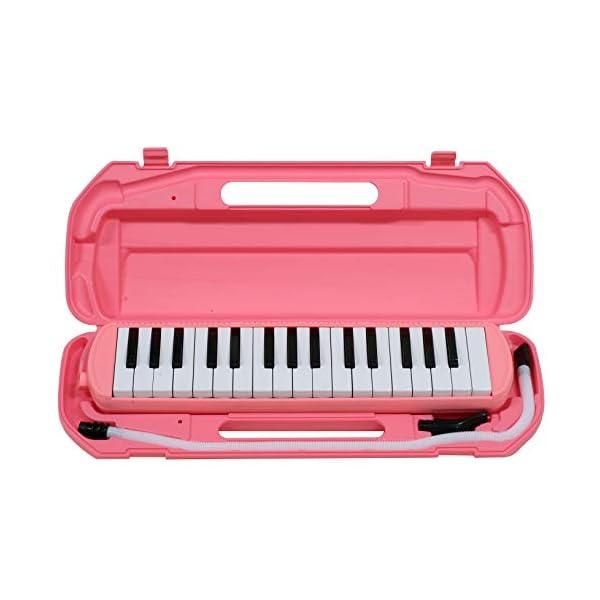 キクタニ 鍵盤ハーモニカ 32鍵 ピンク MM-...の商品画像