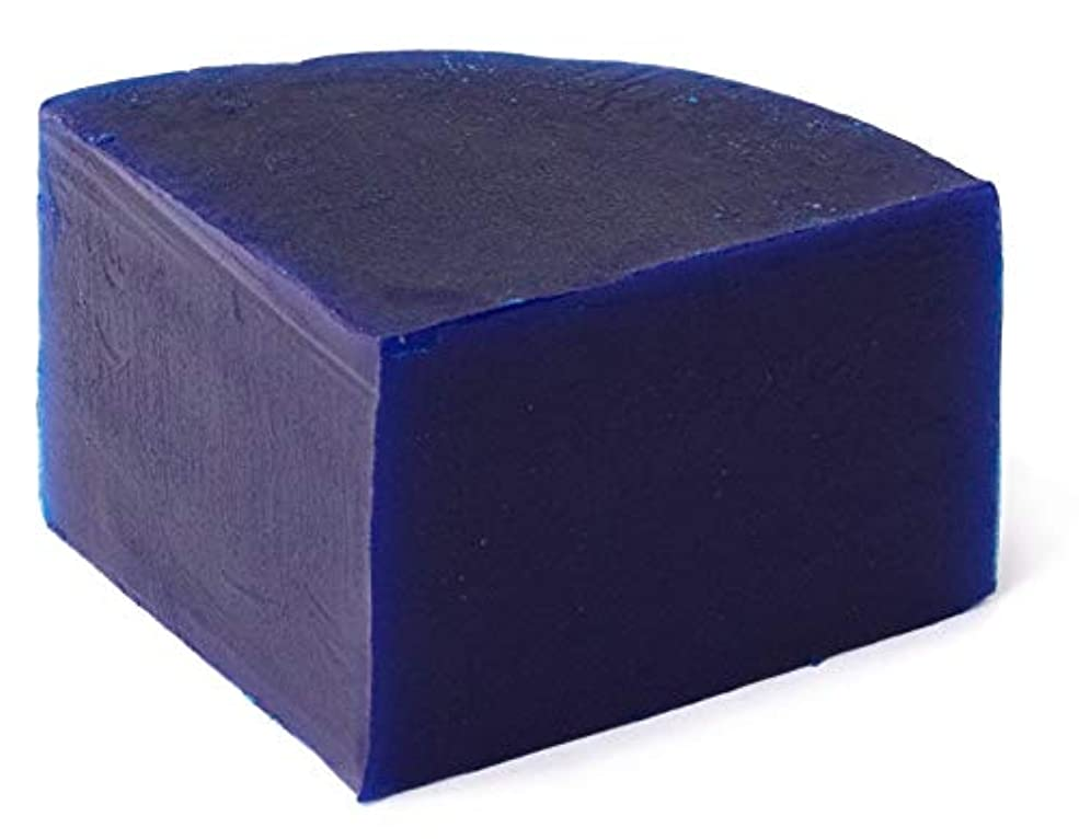 フォルダ製造熱狂的なグリセリン クリアソープ (MPソープ) 色チップ 青 25g