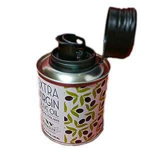Muraglia(ムラリア )イタリア産 エキストラバージン オリーブオイル ピッティッド ミニ(100ml缶) グラッシー コールドプレス(低温圧搾)製法