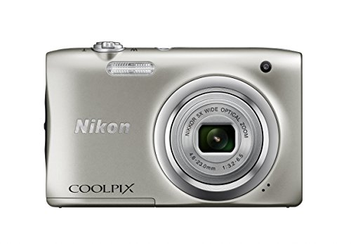 Nikon (ニコン) デジタルカメラ COOLPIX A100 光学5倍 2005万画素 シルバー A100SL B01ALAZOQI 1枚目