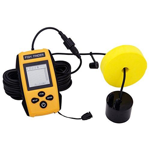 魚群探知機 EletecPro 魚探 魚探し器 フィッシュファインダー fish finder / 屋外釣りツール 魚群検出 防水